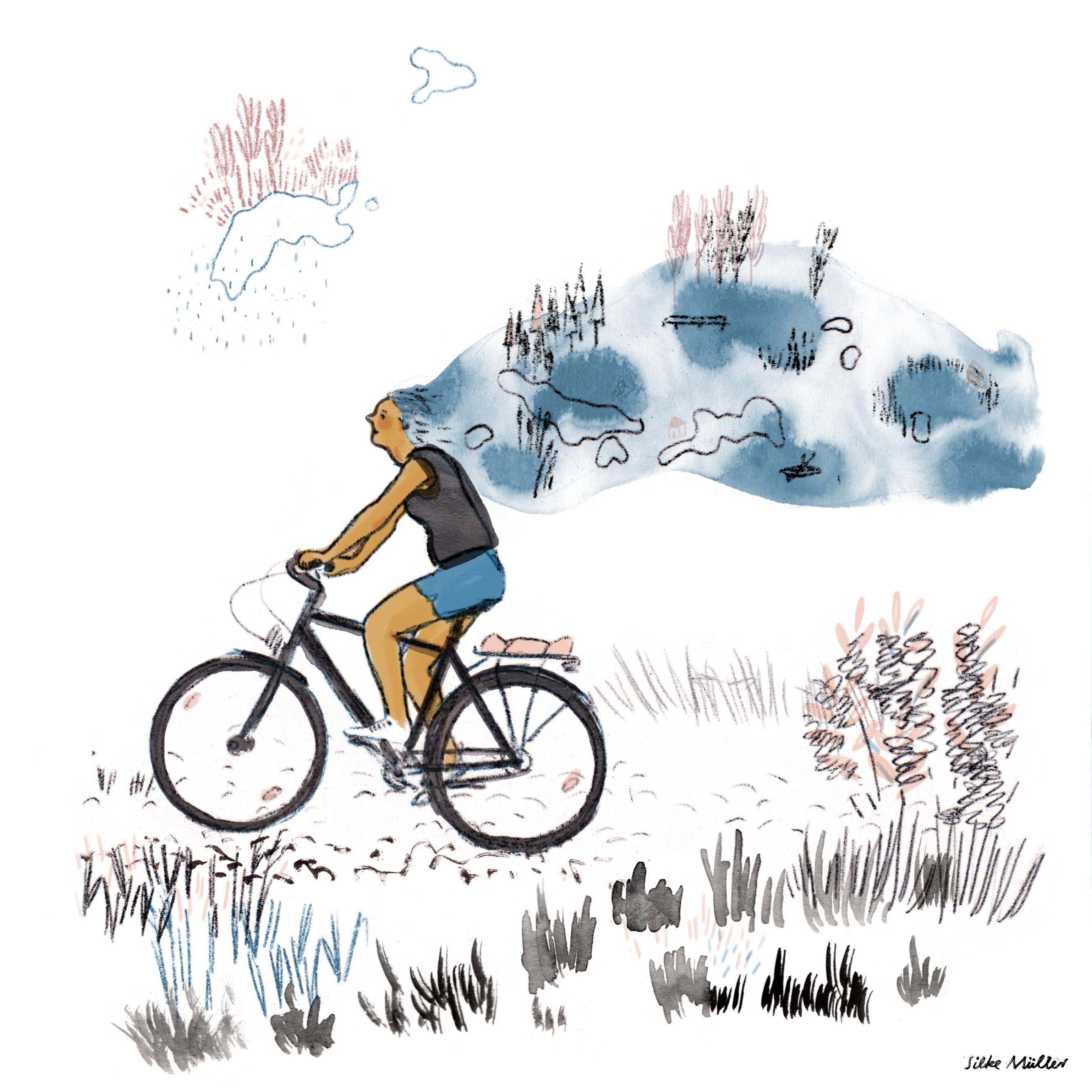 Illustration Silke Müller, Linz, jessica j lee, Mein Jahr im Wasser