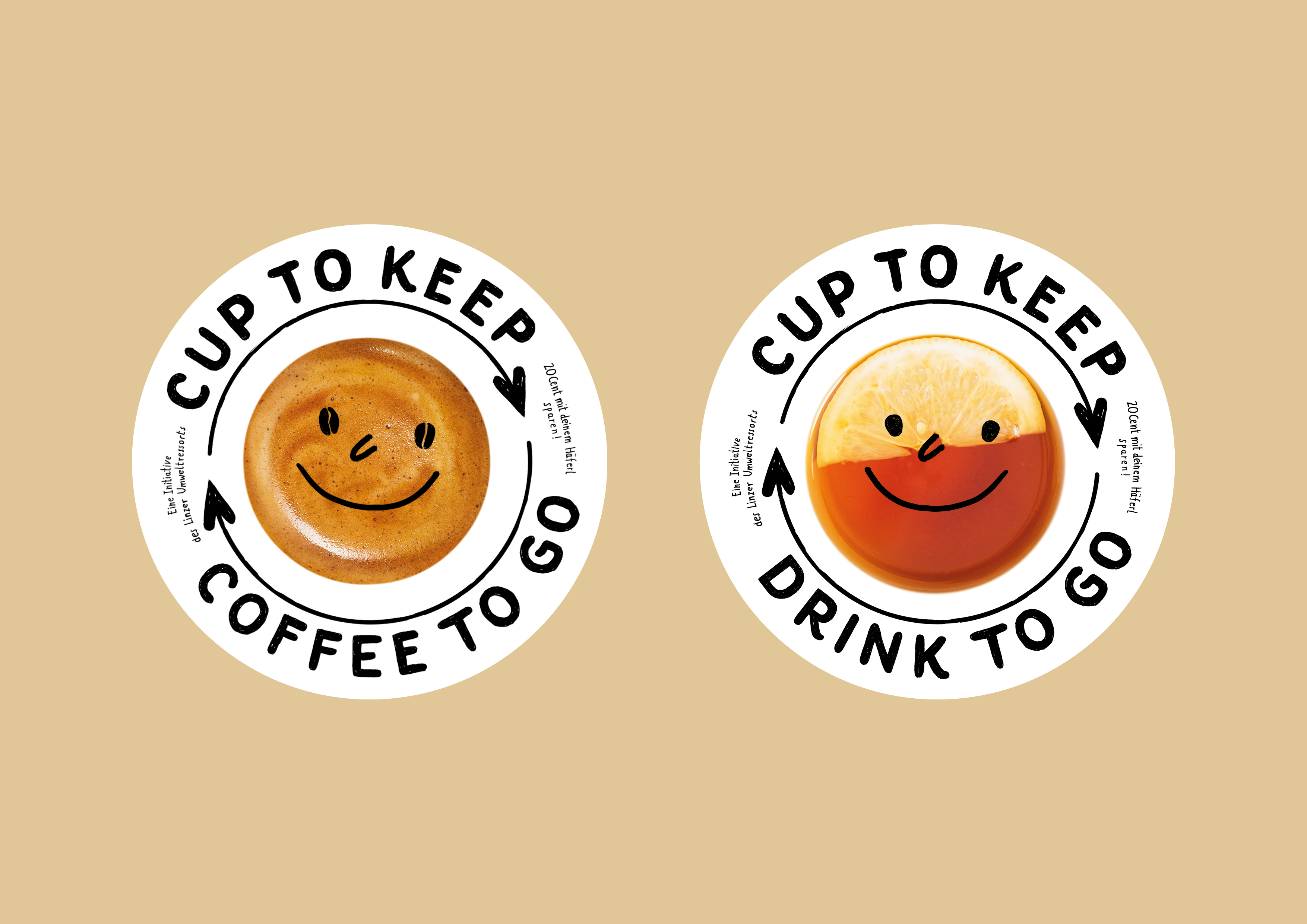 Cup to keep - Coffee to go, Illustration Silke Müller, Linz