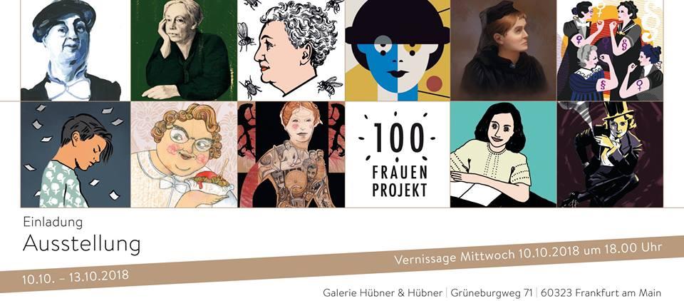 100 Frauen und 100 Jahre Frauenwahlrecht in Deutschland und Österreich | Sabine Kranz, Annegret Ritter | Einladung: 100 Frauen Projekt