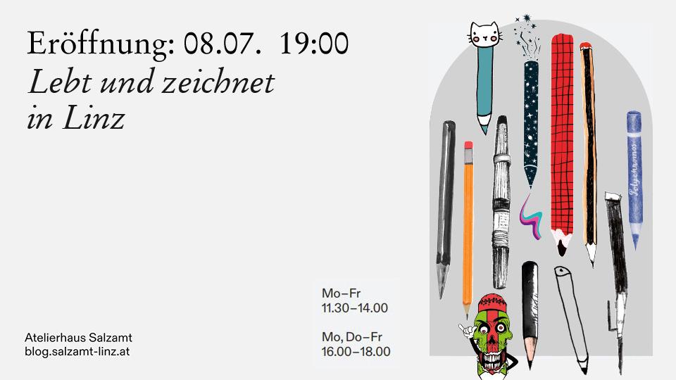Lebt und arbeitet in Linz | Linzer Illustratoren